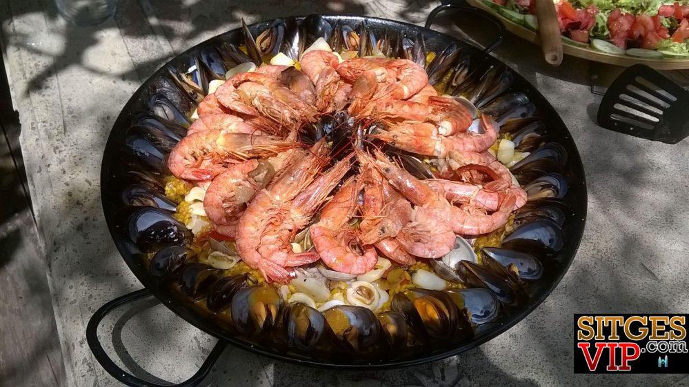 Sea-food-paella,-MENUs