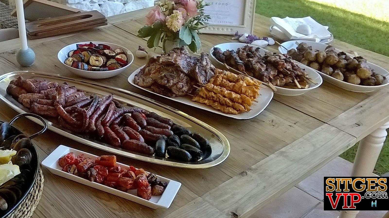 Bbq-buffet